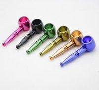 Smoke Pot Forme Tuyau De Forme Innovative Mini Pieces portables Mode Métal Smoking Accessoires EEB6018
