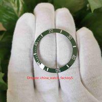 NOOBF V11 V11 V12 Green Montres Vertes Bezel en céramique pour 40 mm 116610 116610LV Cerachrom Montre Accessoires Hulk Homme Montre-Bracelet