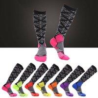 Sports Socks 1 Pair Antifatigue Unisex Compression Varicose Veins Leg Relief Pain Knee High Stockings