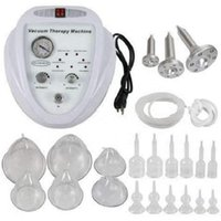 Vacuum therapy and breast and butt enlargement lift up electric vibrator pump massage machine Shaping Lymphatic Drainage vibration breast