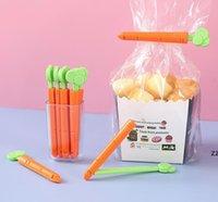 Кухонные инструменты Морковь Пищевая сумка Уплотнительное зажима Свежее крепление зажима Уплотнитель для закусок Портативные зажимы HWB8426