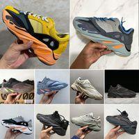 2020 Kanye West Wave Runner 700 Teal Blue Hospital Blue Ilertia 2.0 ساكنة Mauve 3M المواد الرجال النساء الاحذية رياضة أحذية رياضية