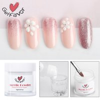 PerfectionsPerfections Crystal Acrylic Powder For Nail Art Design Pink White Clear Color poly builder gel for Nail extend craving