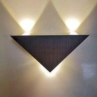 Wandleuchte Moderne LED-Licht 3w Aluminium Körper Dreieck Schlafzimmer Home Beleuchtung Fixture Badezimmer Bunt