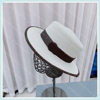 23 styles Mens femmes luxurys designers Casquettes plats Broderie tricoter Strawhat lettre imprimée chapeaux Capuche chapeau cowboy cowboy denim godet chapeau bérets sunhat casquette