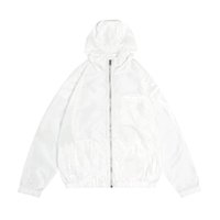Topstoney Konng 봄 봄과 여름 얇은 재킷 패션 브랜드 코트 야외 햇살 증거 윈드 브레이커 자외선 차단제 의류 방수