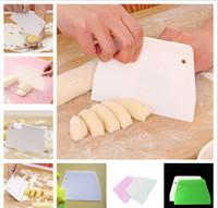 Rolling Pins Boards Cuisine Cuisine de cuisson, Bar à manger Home Jardin Drop Livraison 2021 Vente gâteau lisse Spatule trapézoïdale de pâtisserie de pâtisserie SCRA
