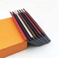 Fashion Pocket Bag card holders designer men Wallets High quality small purses cards holder with box