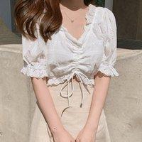 Bobokateer Haut Femme Branco Blusa Mulheres Camisas Plus Size Womens Tops e Blusas Mulher 2019 Blusas Verano Mujer Tunique Femme T200320
