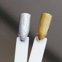네일 반짝이 0.2mm-10g / 가방 Ultrafine Silvergold Holo 파우더 레이저 홀로그램 아트 장식 매니큐어 먼지 # F0.2LS
