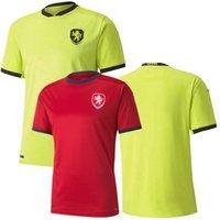 2021 2022 Soccer Jerseys National Team جمهورية التشيك Jankto Pekhart Barak Soucek Home Away 21 22 قميص كرة القدم
