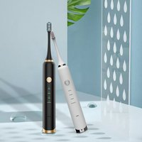 Magnetic Levitation Electric Toothbrush Adult Waterproof Rechargeable Soft Sonic Vibration