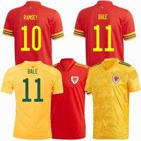 2021 Уэльс футбол для футболки Bale Home Отель 20 21 сборная футбола для футбола и детской рубашки