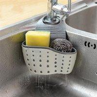 Drenagem Cesta Home Cozinha Pendurado Drenagem Saco De Armazenamento de Banho Tools Sink Titular Cozinha Acessório Acessório Under-Pink Organizadores HWD7193