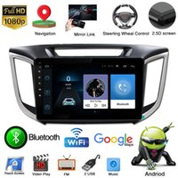 Android 10.1 Car DVD Player Radio GPS Navigation Wifi For Creta Ix25 2021-2021 Audio Multimedia Video 2 Din