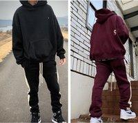 Высококачественный костюм Ess Fashion Hoodie повседневные брюки для беговых брюк Scountsuits Trends Trends стильный лаундж