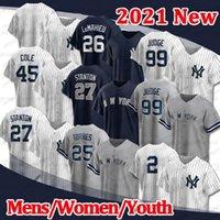 2021 Custom 99 Aaron Seekyseys 25 Джертер 45 Gerrit Cole Новый 3 Babe Ruth Bayball DJ Lemahieu Дон Маттинг Йорк