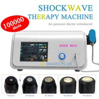 Máquina neumática de alta energía Máquina de onda de agua Onda de choque de aire no invasivo Equipo de fisioterapia extracorpórea para la tendinitis La reparación del cuerpo del cuerpo alivio