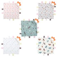 Towels & Robes Born Appease Towel Baby Soothing Comforter Blanket With Soft Teether Toy For Nursing, Multi-functional.