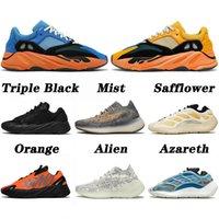 boost 700 380 v2 v3 kanye west 2021 أعلى جودة لامعة الأزرق 700 عدائين احذية الجري ثلاثية الأسود ضباب الغريبة القرطم الهواء الطلق الرياضة المدربين أحذية رياضية