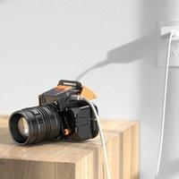 2400 مللي أمبير بطارية المصابيح الأمامية 10 واط أدى المصابيح الأمامية USB قابلة للشحن قوة البنك وظيفة التخييم الصيد دراجة كشافات قوية