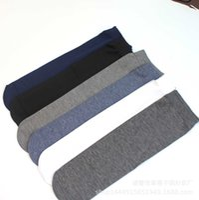 and Men's old spring, summer silk autumn middleaged thin mercerized cotton short tube business socks UCHI