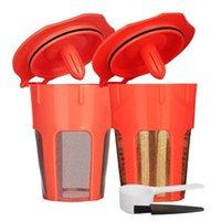 مرشحات القهوة القابلة لإعادة الاستخدام ل K-Cups Carafe، استبدال Refillable Keurig 2.0 Brewers K200 K300 K500 K500 سلسلة