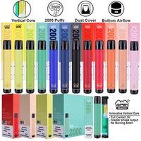 Orijinal Vapen Makro 2000 Puffs Tek Kullanımlık Vape Pen E Sigara 850 MAH 12 Renkler Mevcut Pil 850mAh Kapasitesi 6 ml Buhar Puf Barları