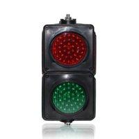 Lente colorida de preço de fábrica DC12V 100mm semáforo