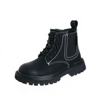 Childrens Boots Kids Shoes Girls Boys Footwear Autumn Winter Casual Cowhide Students Short Boot Shoe B8930