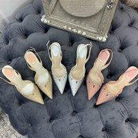 2021 Ladies Luxury Design Sandals High Heels Comfortable Banquet