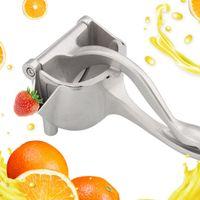Silver Metal Manual Juicer Fruit Squeezer Juice Squeezer Lemon Orange Juicer Press Household Multifunctional Juicer