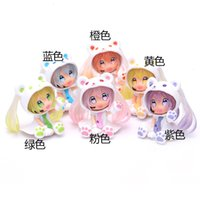 Xiong Chuyin q Version Cherry Blossom Hand Puppet Animation Car Accessories Peripheral Model Creative Gift Opp Bag