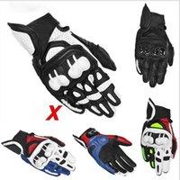 Moto GP Racing Gloves Cross-Couth Riding Otoño e Locomotora de invierno Sombrero de Dedo Completo