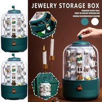 Storage Bags Jewelry Earrings Necklace Display Stand Case Home Tools Large Capacity Box Makeup Organizers Drop