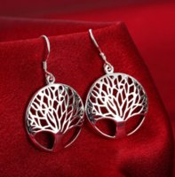 Dangle Earrings Fashion Classic Silver Earrings Jewelry for Women Wedding Party Engagement Accessories ps0695