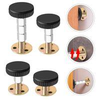 Wall Lamp 4Pcs Metal Bedside Fixator Anti-sloshing Actuator Home Stabilizer Black