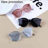 الكورية الأطفال النظارات الشمسية بنين بنات لطيف في الهواء الطلق الشمس أطفال النظارات الكلاسيكية النظارات للأطفال uv400