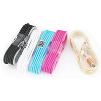 1.5M Type C 3ft Braided USB Charger Cable Micro USB Cables Data Line Metal Plug Charging for Samsung Note 20 S9 Plus