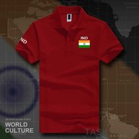 2021 جمهورية الهند قمصان البولو الرجال قصيرة الأكمام العلامات التجارية البيضاء المطبوعة لفريق القطن القط القطن العلم جديد ind الهندي العلم H0913