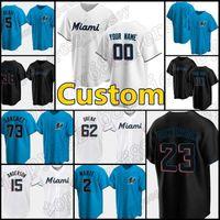 15 Brian Anderson Miami Custom22 Sandy Alcant Jerseys Marlins 19 Miguel Rojas Baseball 23 Corey Dickerson 16 Jose Fernandez 55 Ryne Stanek