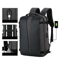 حقيبة ظهر عالية السعة، متعدد الوظائف 15.6 بوصة محمول، شحن USB، ماء، حقائب مدرسية المراهقين