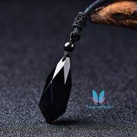 Bellissima pietra preziosa del pendolo del pendente di fascino del pendente di taglio delle donne di taglio di cristallo