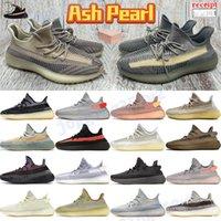 Mannen Dames Reflecterende Running Schoenen Ash Blue Pearl Yesjaya Clay Aarde Israfil Achterlicht Natuurlijke Koolstof Beluga Zwart Wit Heren Sneakers Trainers