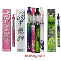 Runtz High Potency Misurabile Penna Pen da Penna da 1000mg Batteria ricaricabile 240mAh 1.0ml Cartucce Kit di sigaretta E-sigaretta 4 colori Top in rame Vuoto per olio denso in magazzino