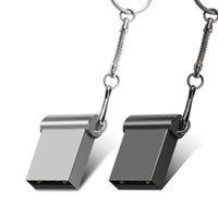 Sliver Conciso Mini Metálico USB Flash Drive 4GB 2GB 1GB 128MB 512MB 8G USB2.0 Stick 100% Capacidade Real Personalizado Logotipo