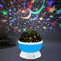 Night Lights Rotating Star Light Projection Lamp, LED Lights, Children's Room Decoration, Christmas Gifts.