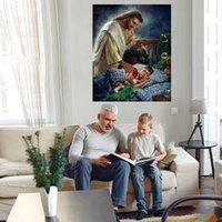 Guarda notturna Grande pittura a olio su tela Home Decor Handcrafts / HD Print Wall Art Pictures Pictures Personalizzazione è accettabile 21071017