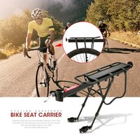 Liga de alumínio Mountain Bike Bicycle Assento traseiro Bagagem Prateleira Rack Carrier Ciclismo Acessório