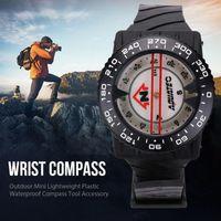 Outdoor Gadgets Diving Compass Luminous Magnetic Scuba Watchband Caving Waterproof Camping Wristband Fluorescent Dial Underwater Com S7A2